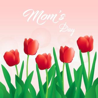Feliz dia das mães fundo
