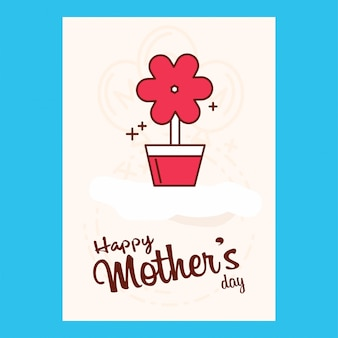 Feliz dia das mães venda banner