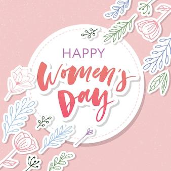 Feliz dia das mulheres 8 de março