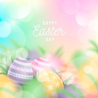 Feliz dia de páscoa ilustração do evento