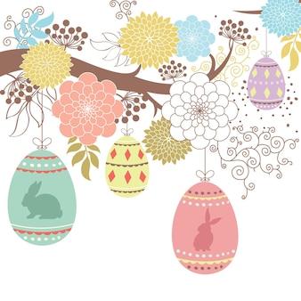 Feliz dia de páscoa ilustração