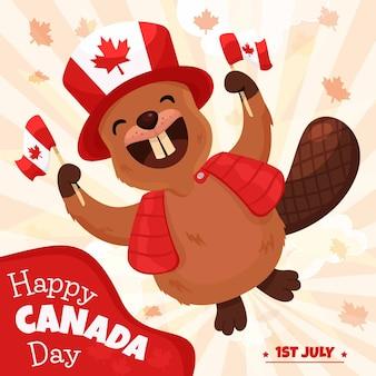 Feliz dia do canadá
