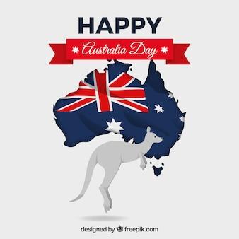 Feliz dia do dia da austrália