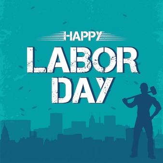 Feliz dia do trabalho 1 de maio