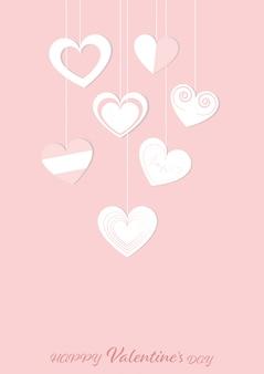 Feliz dia dos namorados cartão fundo de saudações