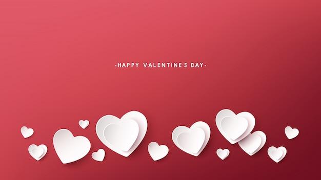 Feliz dia dos namorados cartão vector design