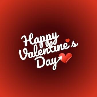 Feliz dia dos namorados deseja cartão de felicitações. rótulo de vetor de dia dos namorados