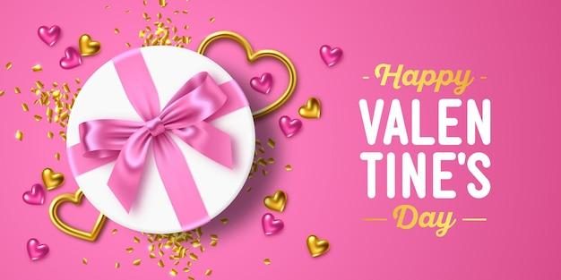 Feliz dia dos namorados design de cartão de felicitações