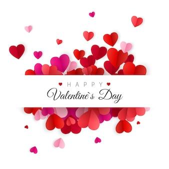 Feliz dia dos namorados e elementos de design de casamento