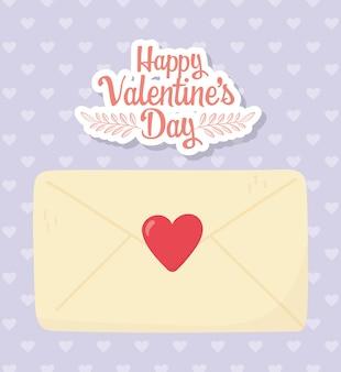 Feliz dia dos namorados, envelope mensagem coração corações decoração fundo