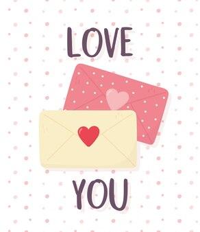 Feliz dia dos namorados, envelope romântico e-mails mensagem