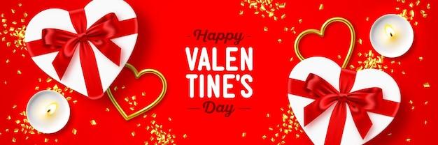 Feliz dia dos namorados feriado web design de banner