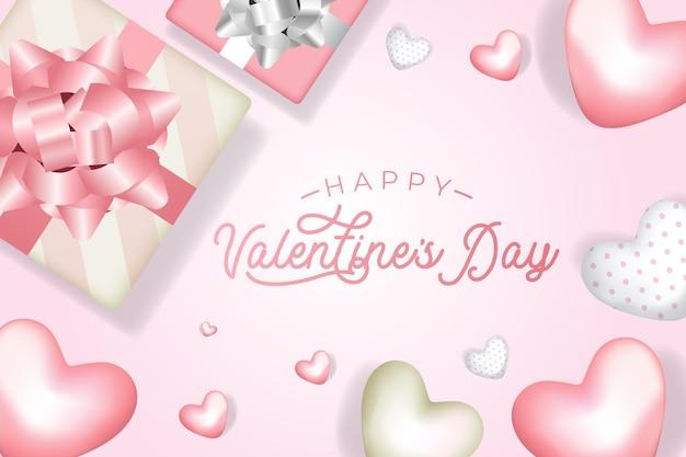 Feliz dia dos namorados rosa