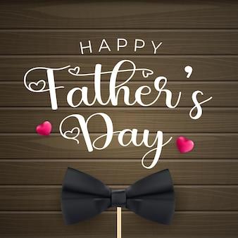 Feliz dia dos pais cartão de felicitações