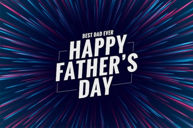 Feliz dia dos pais celebração deseja saudação design