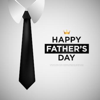 Feliz dia dos pais de fundo vector