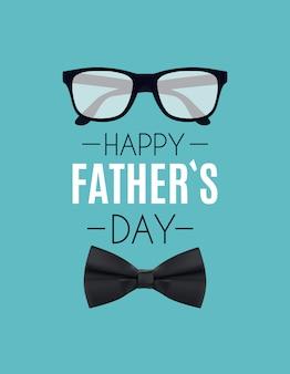 Feliz dia dos pais fundo. melhor ilustração do pai