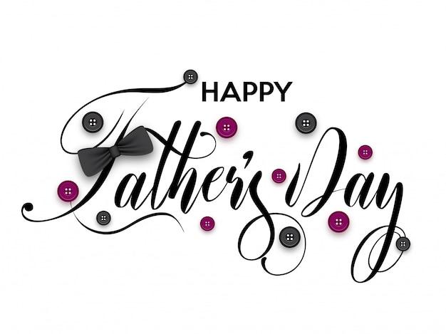 Feliz dia dos pais inscrição