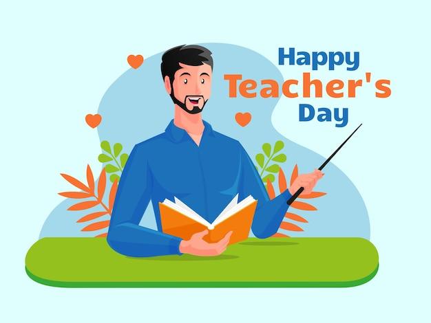 Feliz dia dos professores, obrigado professor