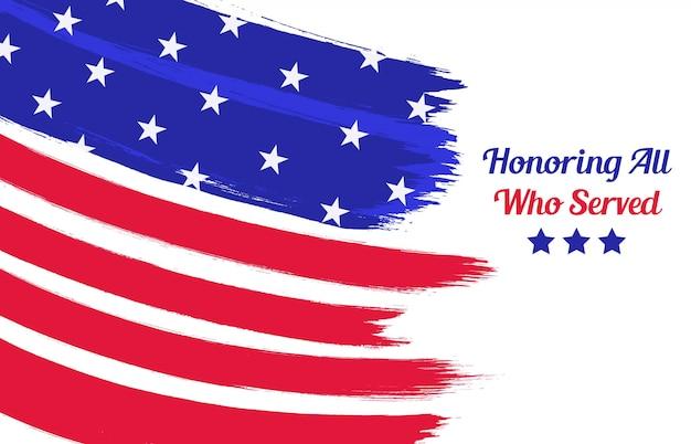 Feliz dia dos veteranos backround