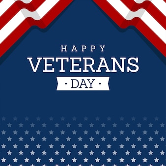 Feliz dia dos veteranos cartão