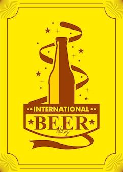 Feliz dia internacional da cerveja