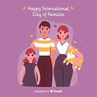 Feliz dia internacional das famílias