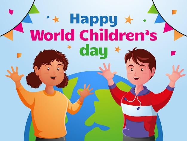 Feliz dia mundial da criança