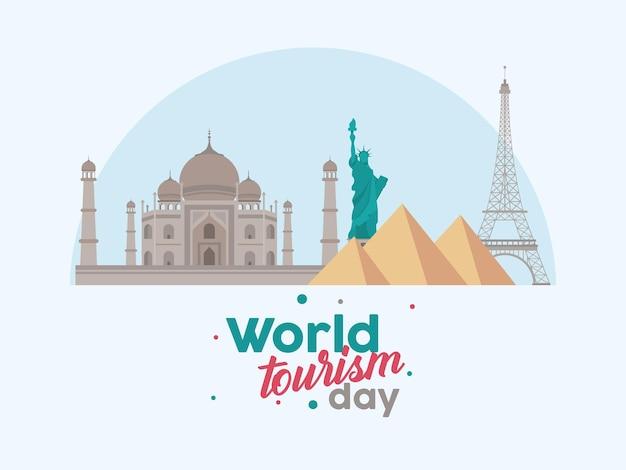 Feliz dia mundial do turismo