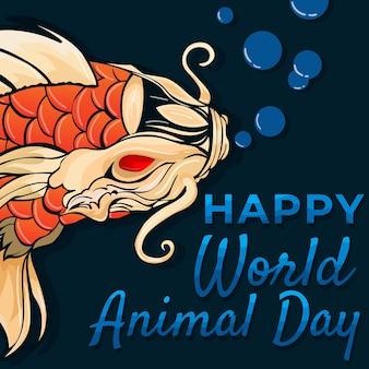 Feliz dia mundial dos animais