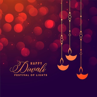 Feliz diwali background