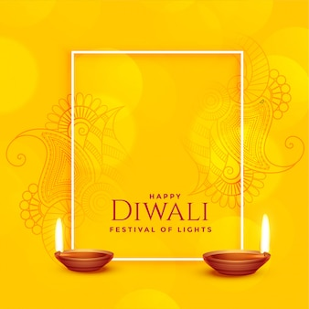 Feliz diwali background