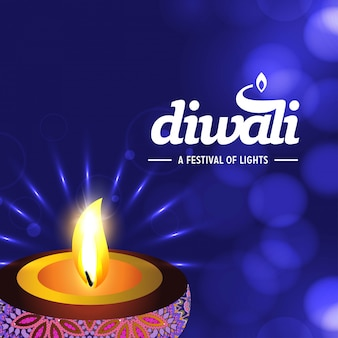 Feliz diwali design
