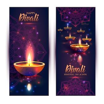 Feliz diwali festival das luzes