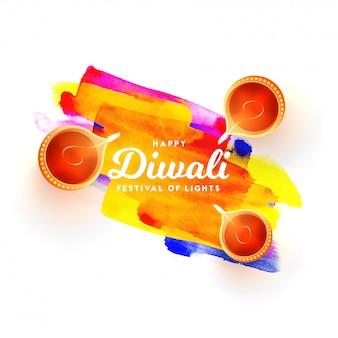 Feliz Diwali Fundo.