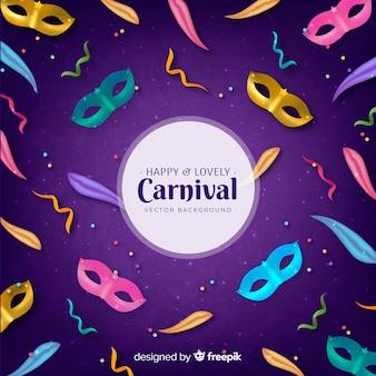 Feliz e adorável carnaval