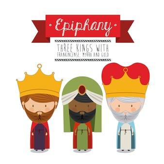 Feliz epifania design