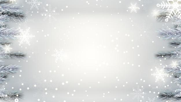 Feliz feriado de fundo festival de natal. temporada de decorações de natal