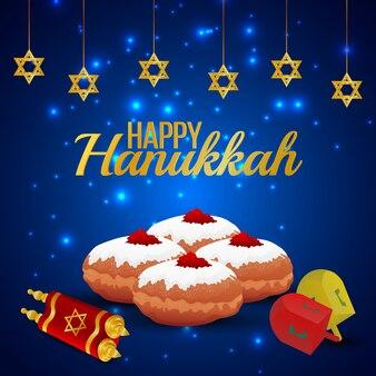 Feliz festa de hanukkah