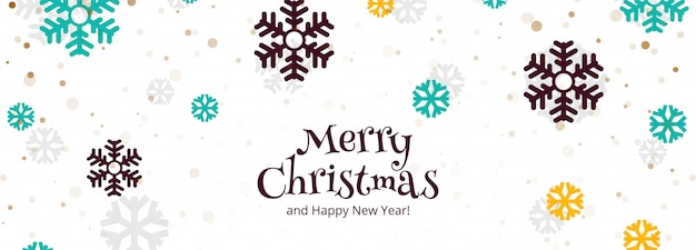 Feliz festa de natal e feliz ano novo banner festival fundo