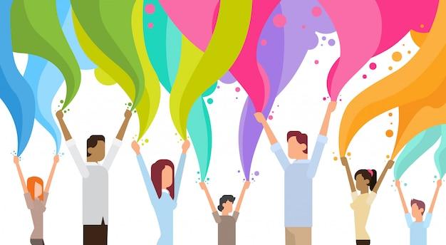 Feliz, holi, religiosas, índia, feriado, tradicional, celebração, saudação, carreta