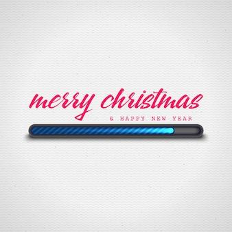 Feliz natal carregando