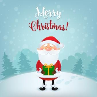 Feliz natal cartão ilustração