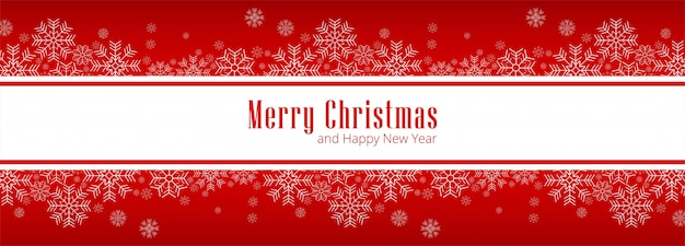 Feliz natal cartão para banner vector