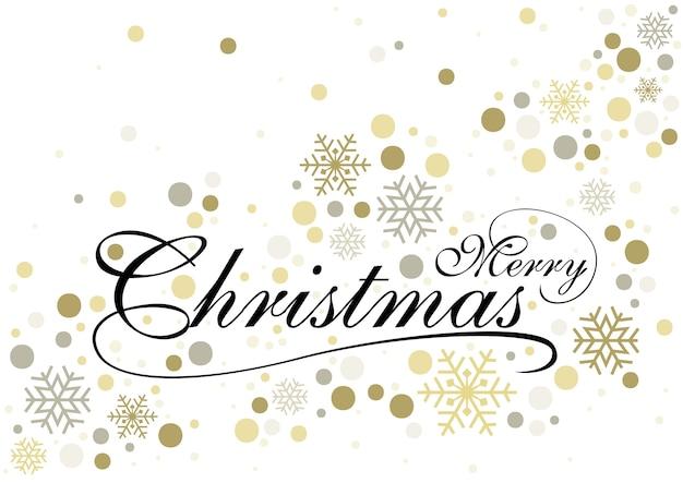 Feliz natal com fundo dourado brilhante