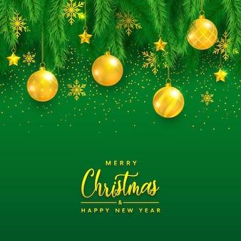 Feliz natal de luxo