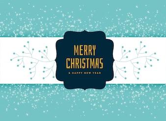 Feliz Natal decorativo design de plano de fundo