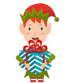 Feliz natal design de cartão colorido