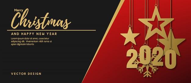 Feliz natal e feliz ano novo 2020
