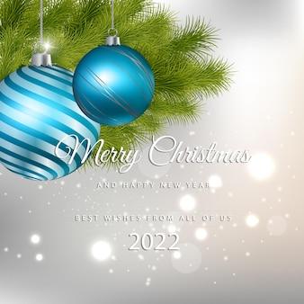 Feliz natal e feliz ano novo 2022